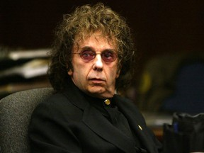 Music producer Phil Spector died Saturday, Jan. 16, 2021, after he was diagnosed with COVID-19 four weeks ago while serving a murder sentence.