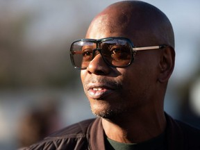 Comedian Dave Chappelle is pictured in a file photo.