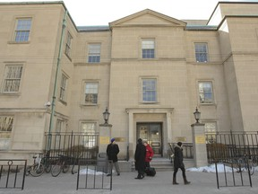 The Law Society of Upper Canada building.
