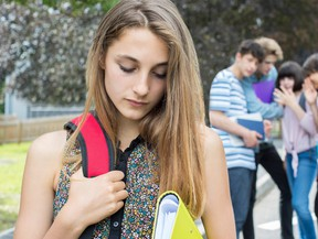 A bullied student is reluctant to report a friend.