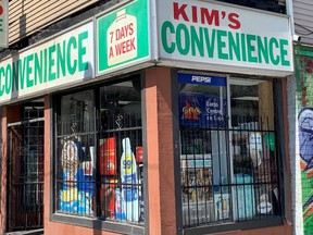 Kim's Convenience store in Moss Park