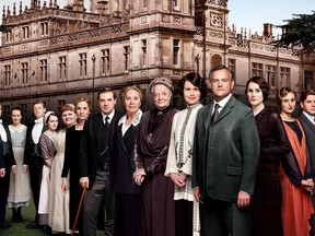 """The cast of """"Downton Abbey"""" the TV series."""