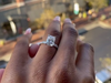 William Hunn went viral after proposing to his partner Brittney Miller with five different rings.
