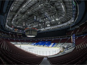 Rogers Arena will remain empty Friday with postponement of an NHL meeting with Edmonton.