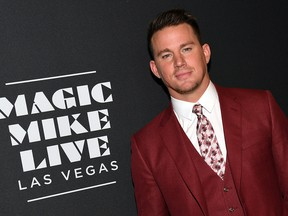 """Channing Tatum attends the grand opening of """"Magic Mike Live Las Vegas"""" at the Hard Rock Hotel & Casino on April 21, 2017 in Las Vegas."""