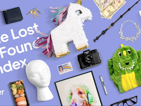 Uber releases a yearly list to point out which items are forgotten the most. You'll see things you'd expect on a list like this -- such as phones, wallets, keys, headphones -- but also some unusual items.