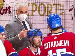 """""""It's frustrating because I've been doing everything that they ask us to do,"""" Canadiens head coach Dominique Ducharme said during a Zoom conference Sunday afternoon about testing positive for COVID-19. """"I never exposed myself and I got that bad luck."""""""
