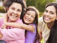 A grandmother yearns to be closer to her daughter and grandchildren.