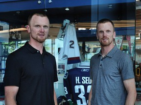 Henrik and Daniel Sedin are taking their on-ice passion to new off-ice roles with the Canucks organization.