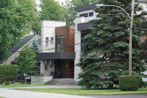 Quebec Superior Court has ordered the demolition of a sumptuous Gatineau, Que., home, shown on on Thursday, July 22, 2021, that was built too close to the road, with the city required to foot the bill.