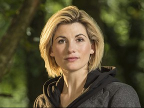 Jodie Whittaker as The Doctor in Doctor Who.