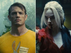Joel Kinnaman and Margot Robbie in 'The Suicide Squad.'