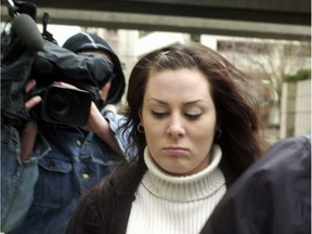 File photo of convicted killer Kelly Ellard, who now goes by the name Kerry Sim.