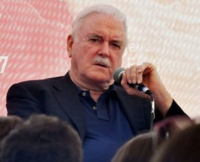 John Cleese answers questions from the audience during the 23rd Sarajevo Film Festival, on August 17, 2017.