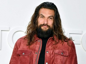 Jason Momoa attends the Tom Ford AW20 Show at Milk Studios in Hollywood, Calif., Feb. 7, 2020.