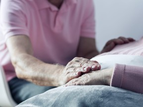 Communicating via social media can be a source of stress for a caregiver.