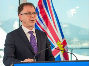 """""""Given the current demands on B.C.'s health-care system, we will not be able to assist with taking patients at this time,"""" said B.C. Health Minister Adrian Dix in a statement after a meeting of B.C. and Alberta health officials."""