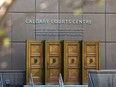 The Calgary Courts Centre was photographed on Monday, May 3, 2021.
