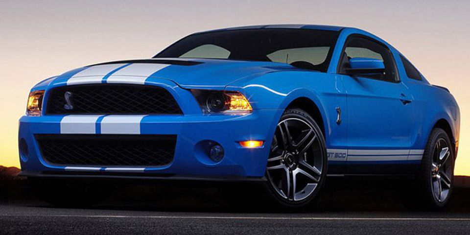 2010 Ford Shelby GT500.