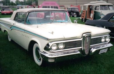 The 1959 Ford Edsel Corsair.