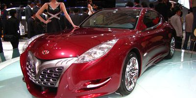 The Geely GT at 2009 China Auto Show. For a gallery of images, click the link.
