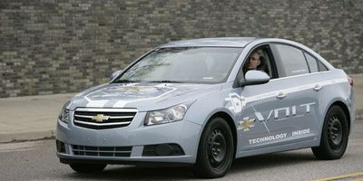 Test drive the Chevy Volt Mule at the GM Tech Center in Warren, MI.