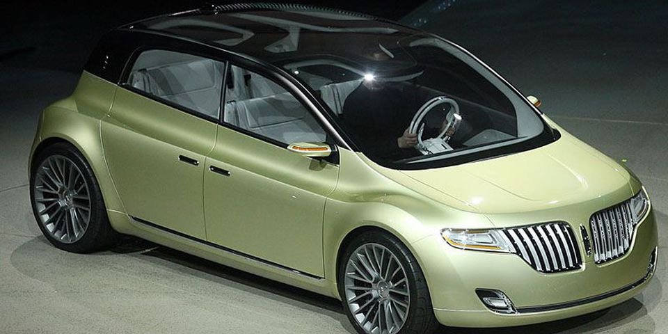 The Lincoln C Concept is introduced at the NAIAS in Detroit on Monday.