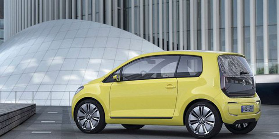 Volkswagen's e-up! concept.