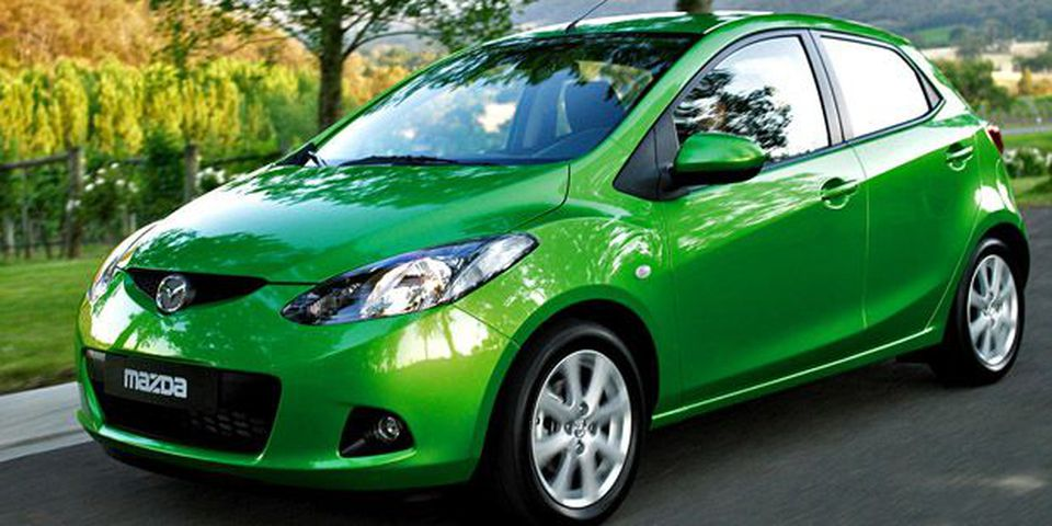 The new Mazda2 will arrive in Canada in 2010.