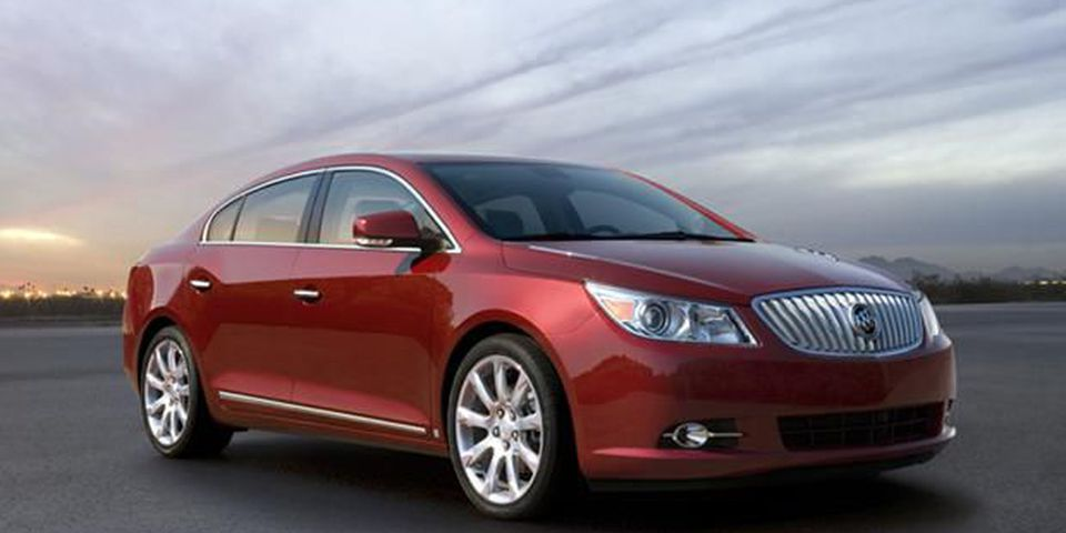 The 2010 Buick Lacrosse.