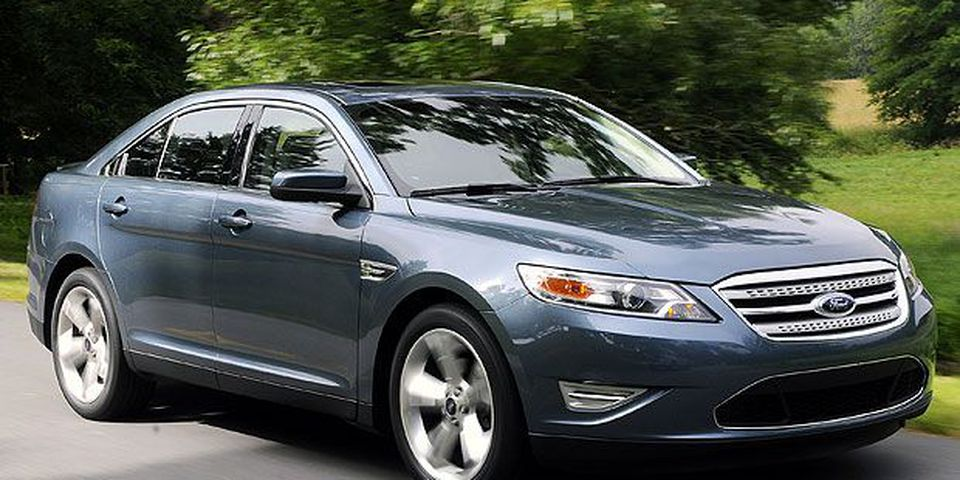 The 2010 Ford Taurus SHO.