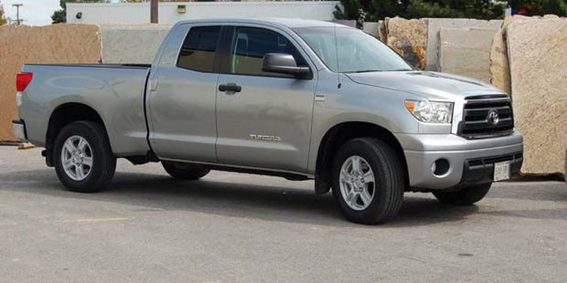 2010 Toyota Tundra double cab with 4.6-litre V8.