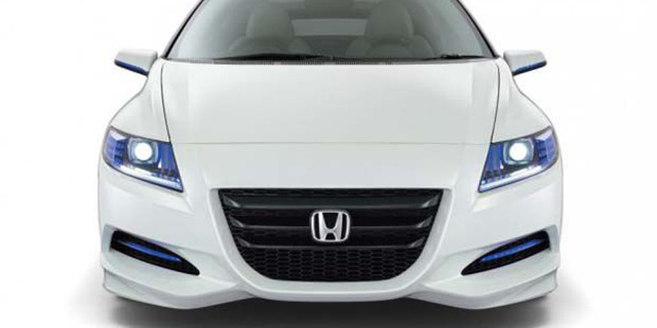 Honda's CR-Z concept car.