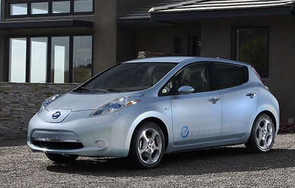 The 2010 Nissan Leaf.