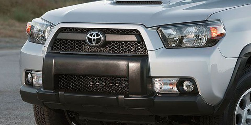 The 2010 Toyota 4Runner.