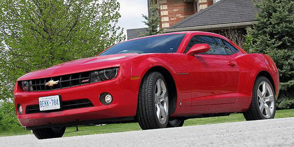 The 2010 Chevrolet Camaro.