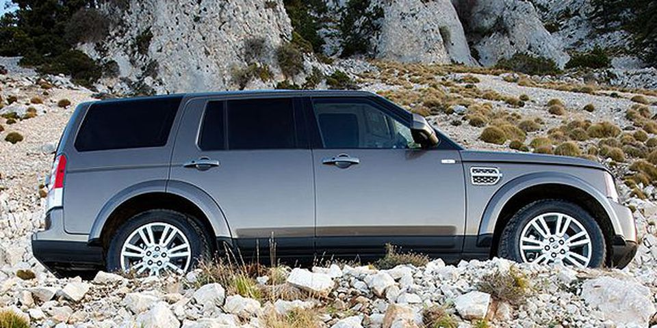 The 2010 Land Rover LR4.