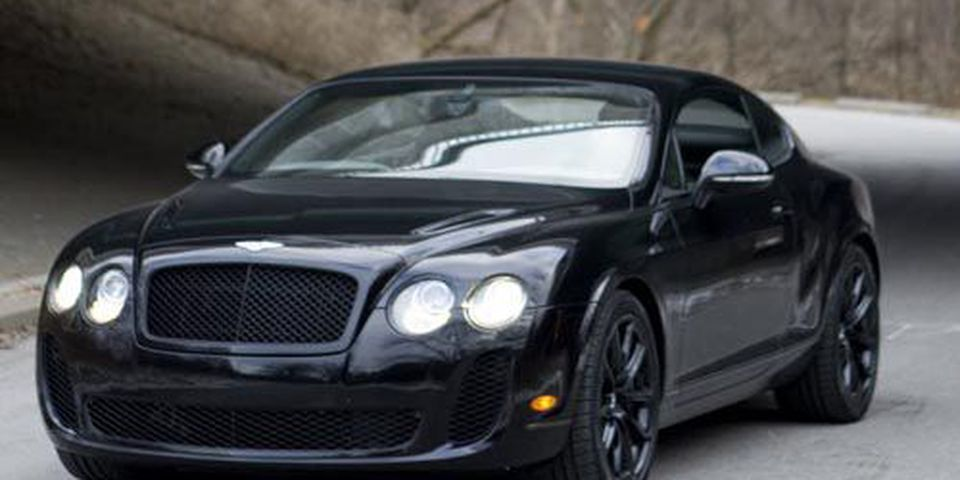 2010 Bentley Continental Supersports.