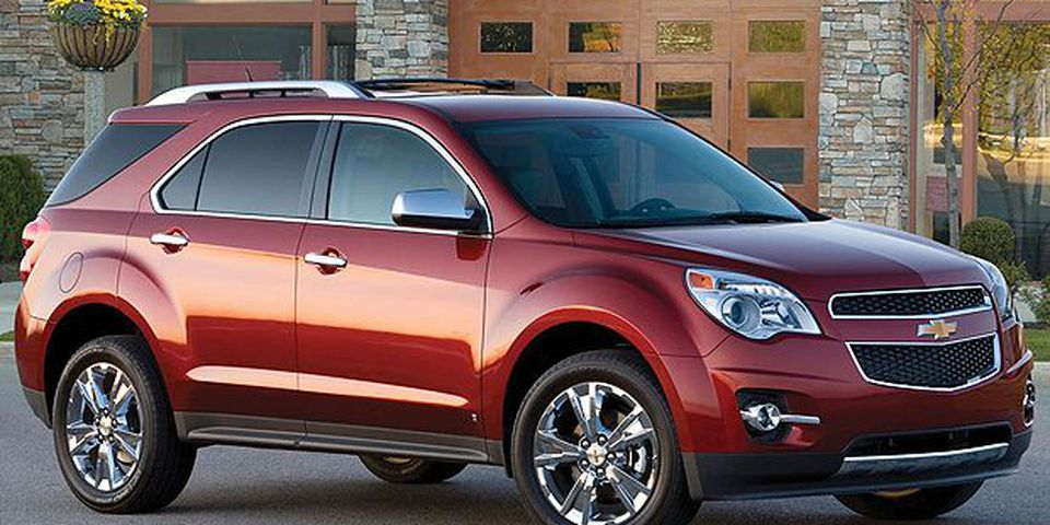 The 2010 Chevrolet Equinox.