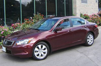 Now: 2008 Honda Accord EX