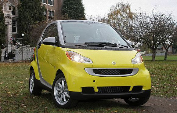 HAPPY: 2008 Smart Car