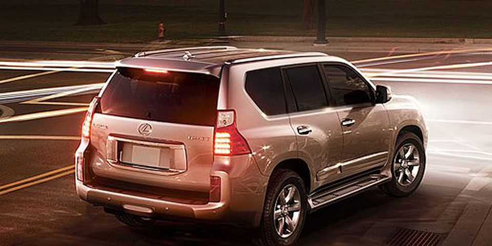 The 2010 Lexus GX.