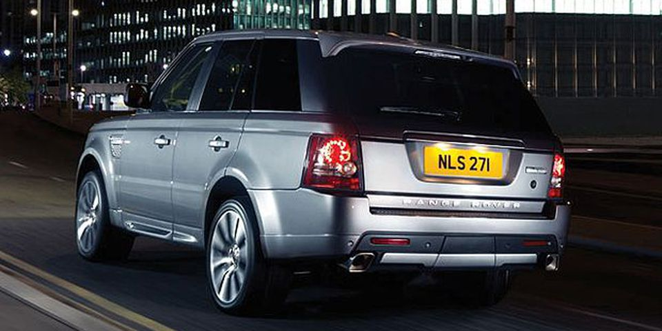 The 2010 Range Rover Autobiography edition.