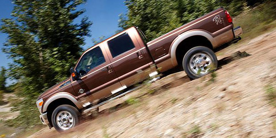 The 2011 Ford Super Duty.