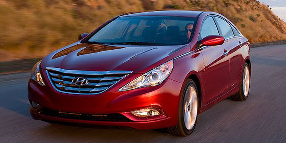 The 2011 Hyundai Sonata.