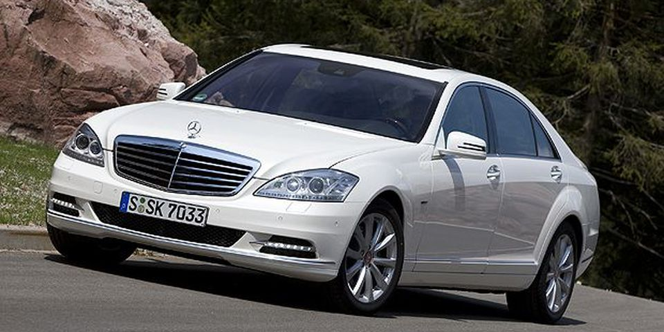 The 2010 Mercedes-Benz S400 hybrid.