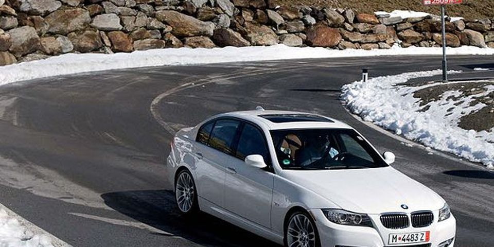 The 2010 BMW 335d.