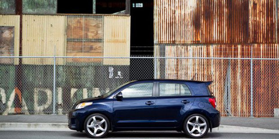 2011 Scion xD.