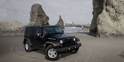 The 2010 Jeep Wrangler Unlimited Rubicon.
