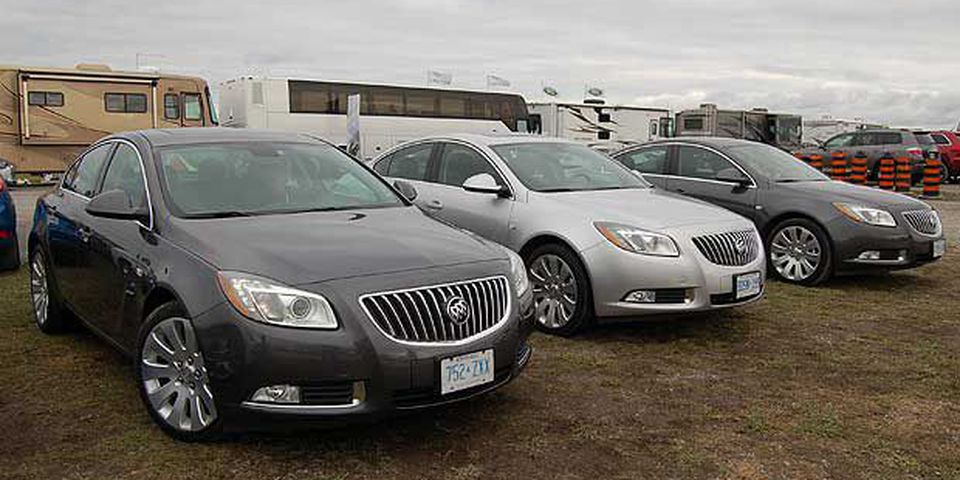 2011 Buick Regal. Winner: Family car, over $30k.